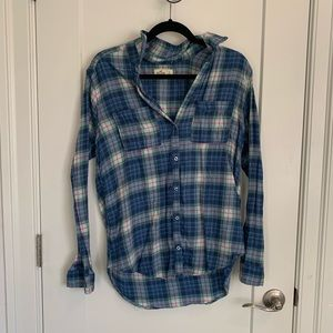 Hollister Plaid Button-Down Shirt